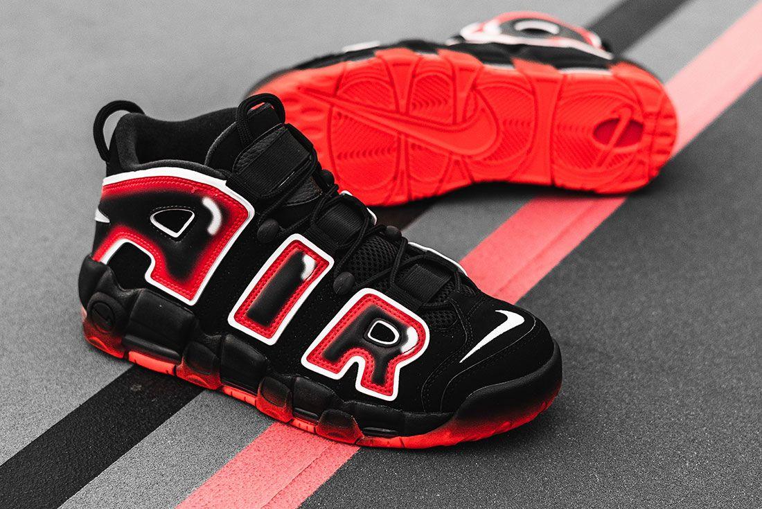 Nike Air More Uptempo 96 Laser Crimson 3