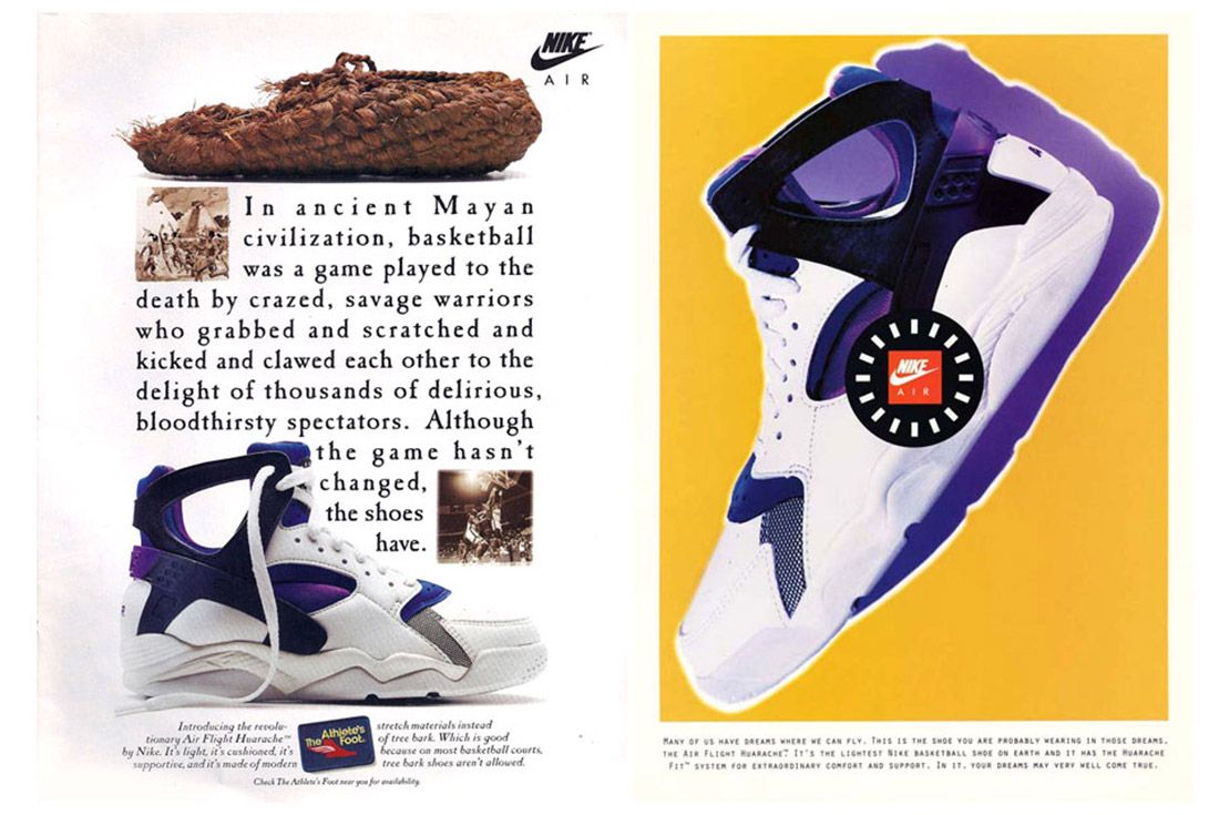 Material Matter Neoprene Nike Huarache Advertisement 2