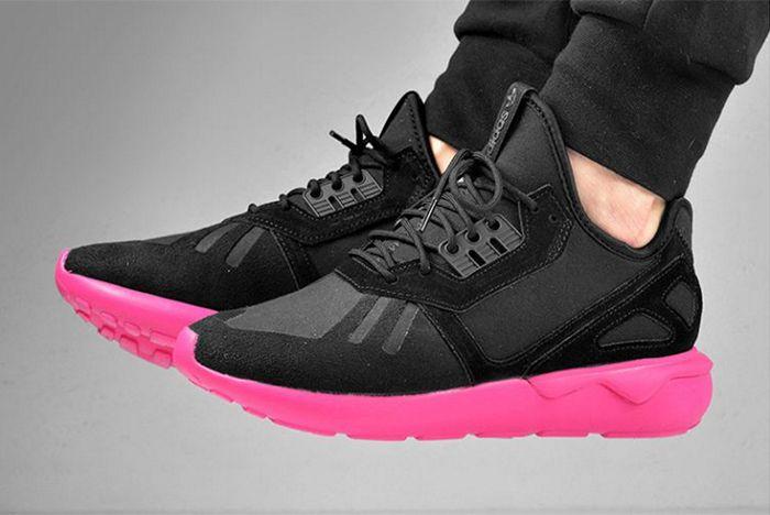 Adidas Tubular Runner Pink Sole2
