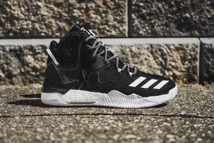 Adidas D Rose 7 Core Black White 2
