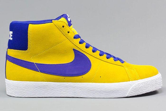 Nike Sb Blazer Mid Tour Yellow5