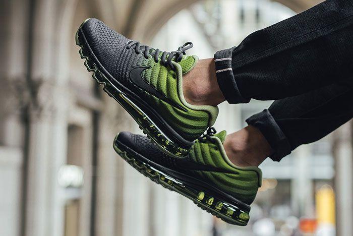 Nike Air Max 2017 Black Palm Green 3