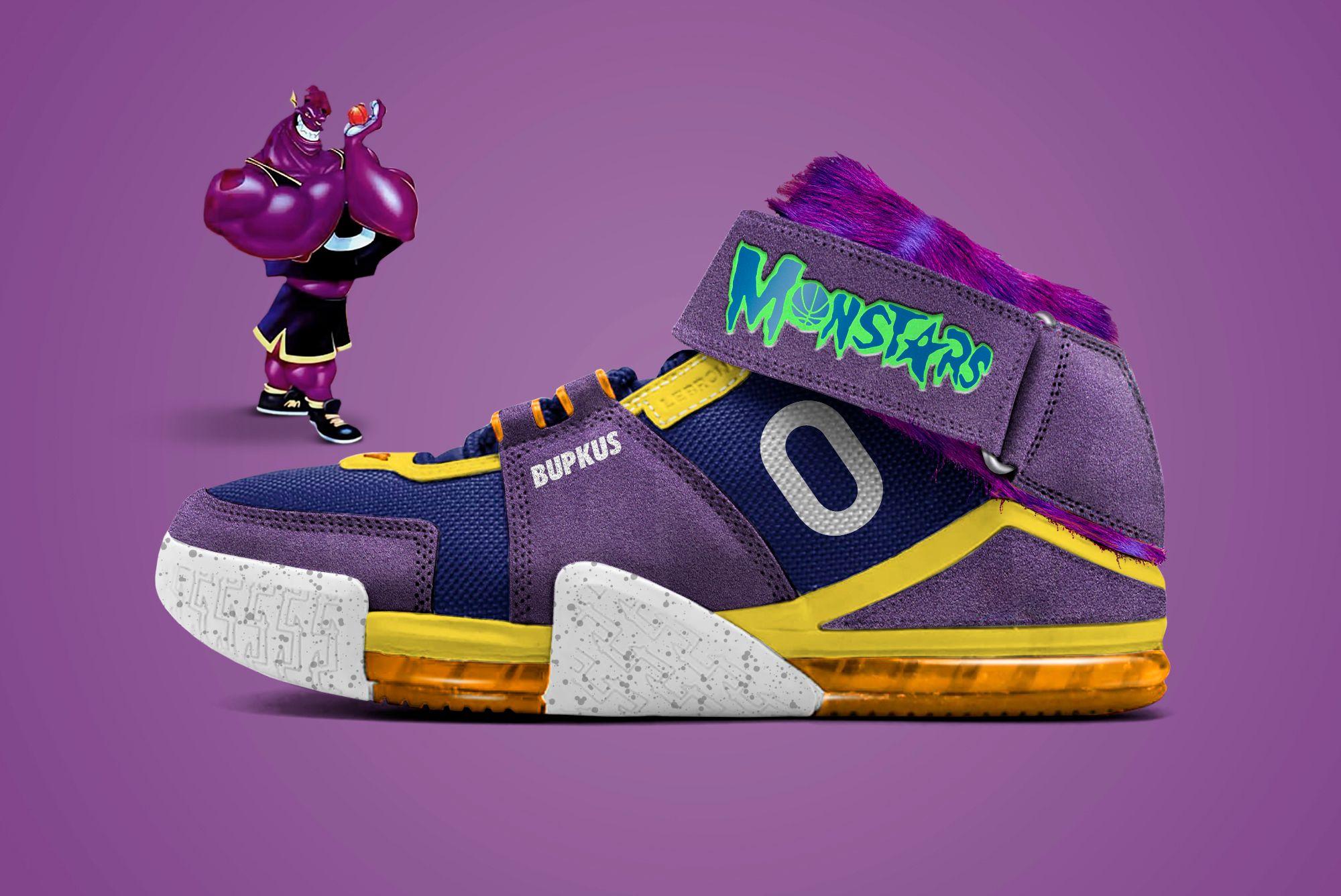 Nike LeBron 2 'Monstars: Bupkus'