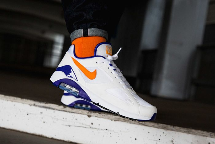 Nike Air Max 180 Bright Ceramic On Feet 3