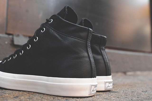 Converse Jack Purcell Mid Black White 4