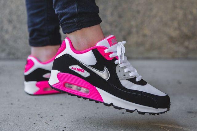 Nike Air Max 90 Metallic Silver Hyper Pink 3