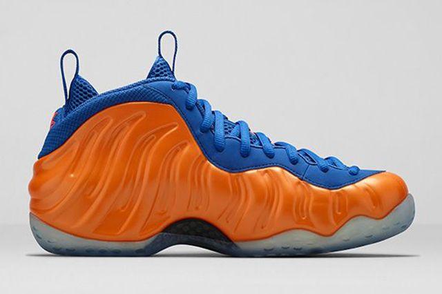 Nike Foamposite One Knicks 4