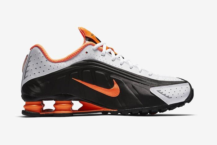 Nike Shox R4 Dutch Orange Medial