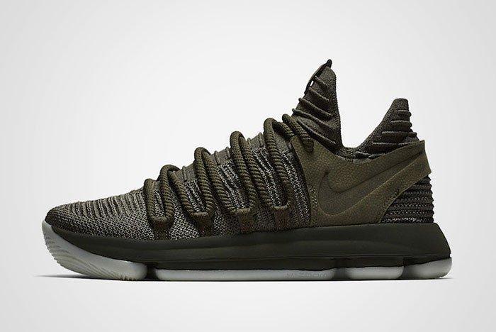 Nike Zoom Kd 10 Olive Green Thumb