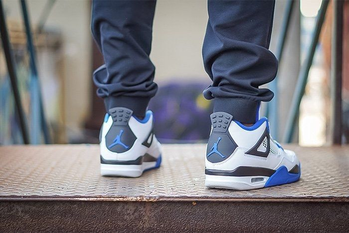Air Jordan 4 Motorsport On Foot 2