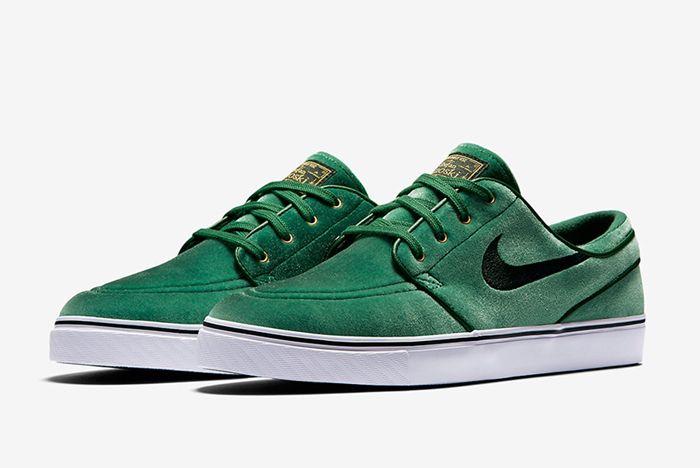 Nike Sb Zoom Stefan Janoski Green Velvet