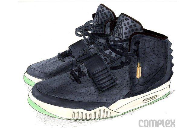 Nike Kanye Yeezy 2 1 1