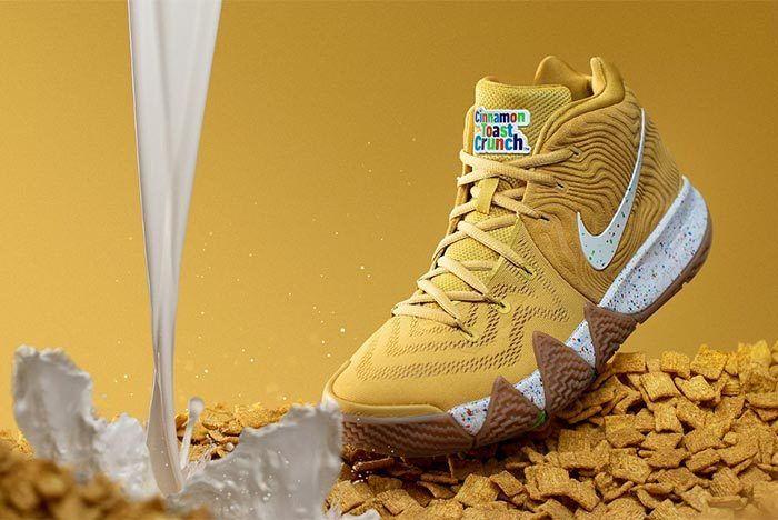 Nike Kyrie 4 Cinnamon Toast Crunch Release Date 4