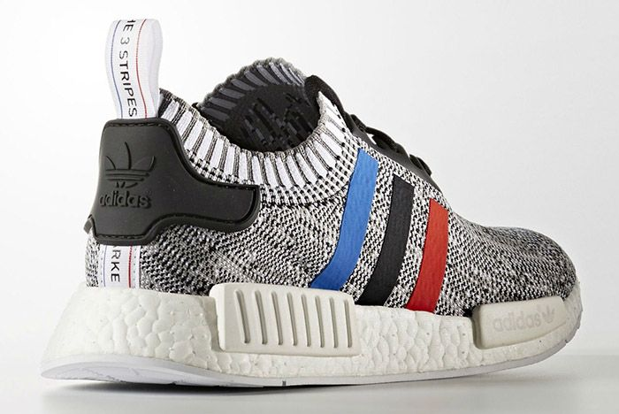 Adidas Nmd Pk Blue Red White Stripes White 3