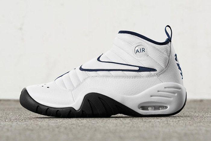 Nike Air Shake Ndestrukt Retro White Blue 4