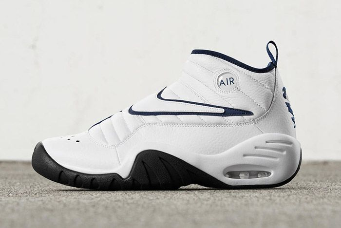Nike Air Shake Ndestrukt Retro White Blue 4