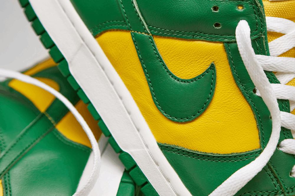 Nike Dunk Low Brazil Swoosh