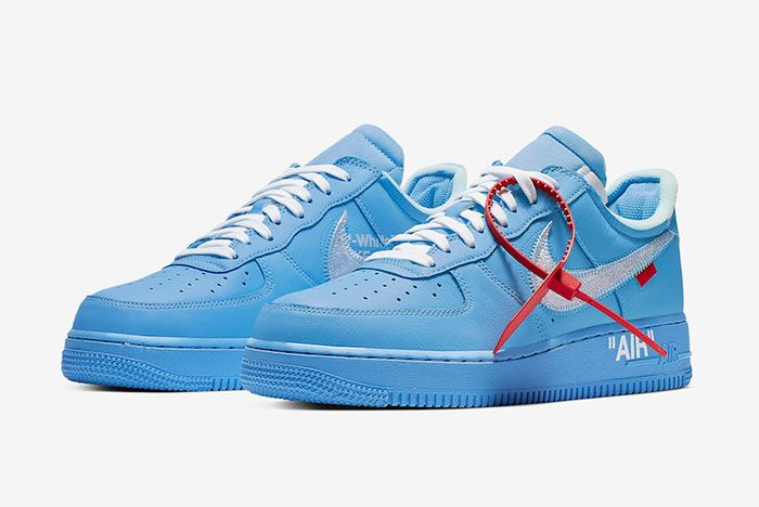 Off White Nike Air Force 1 Mca Toe Far