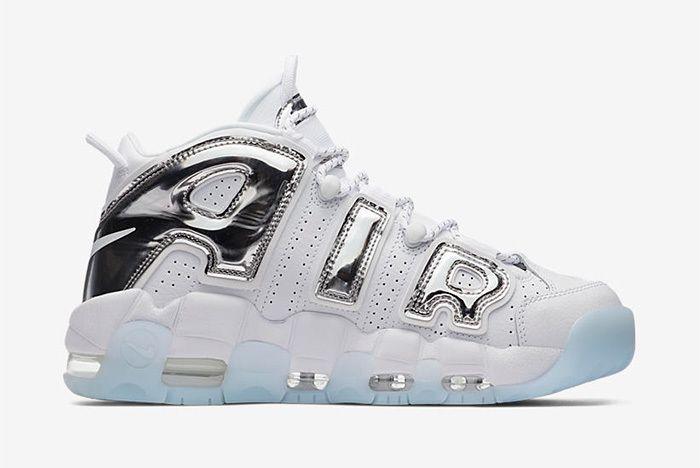 Nike Air More Uptempo Chrome Blue Sneaker Freaker 5