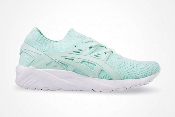 Asics Gel Kayano Knit Womens Viridian Greenfeature