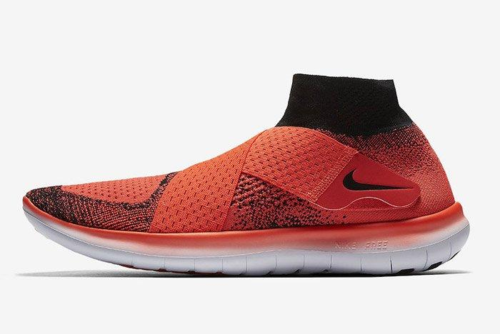 Nike Free Rn Motion Flyknit 2017 Crimson 5