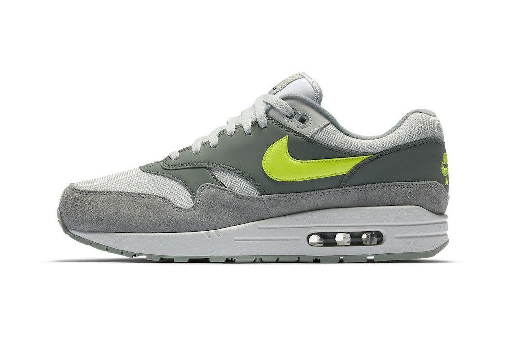 Nike Air Max 1 Grey Volt 1 Sneaker Freaker