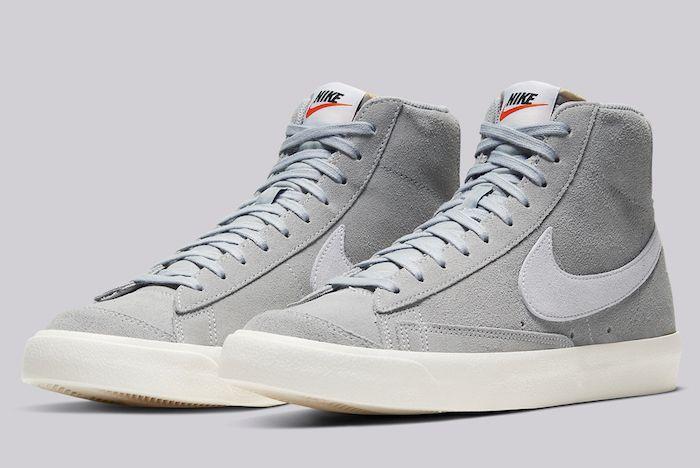 Nike Blazer Mid 77 Grey Suede 1