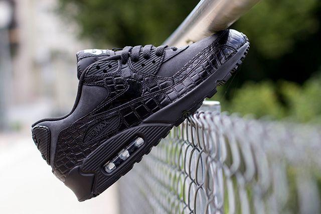 Nike Wmns Air Max 90 Patent Croc 2
