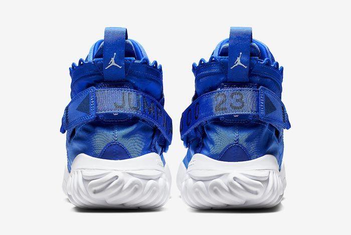 Jordan Proto React Blue White Heels