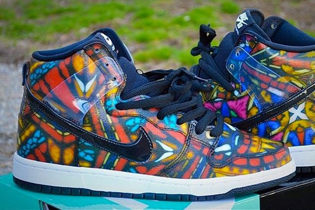 Concepts Nike Dunk High Sb Stained Glass