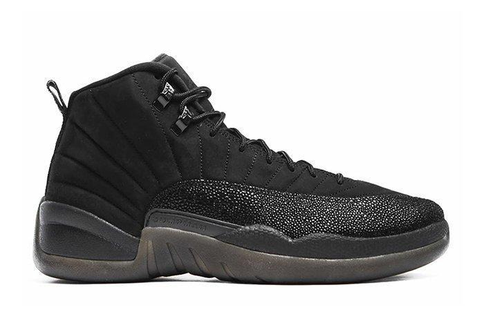Drake X Air Jordan 12 Ovo Black Stingray