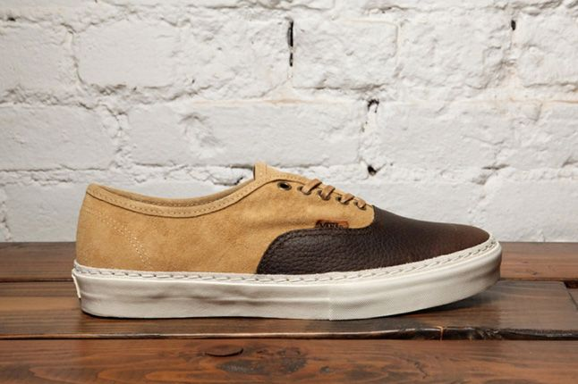 Dqm Vans Authentic Lx Suede Leather Pack Profile 1