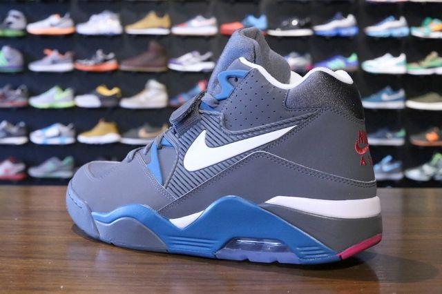 Nike Air Force 180 Dark Grey Royal 3