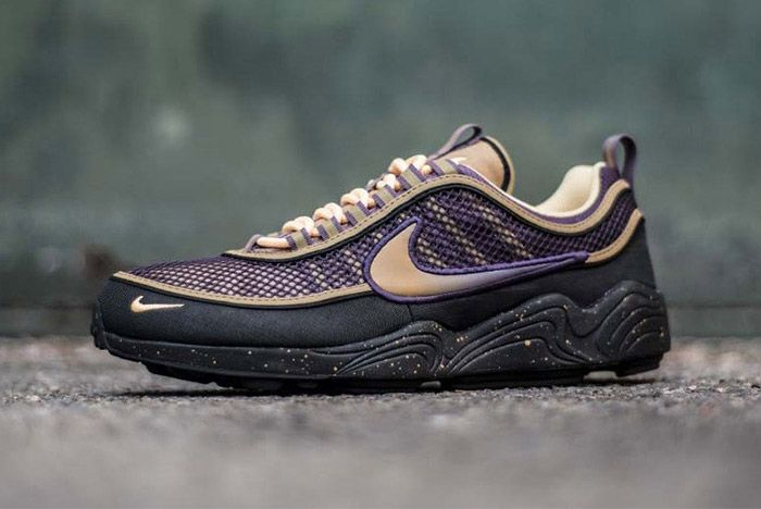 Nike Zoom Spiridon Anthracite Elemental Gold Sneaker Freaker 1
