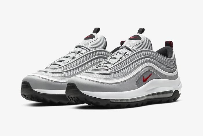 Nike Air Max 97 Golf Silver Bullet Pair