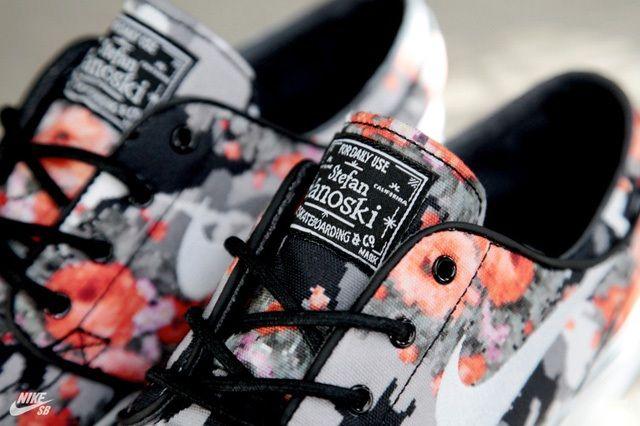 Nike Sb Stefan Janoski Mandarin Camo 2