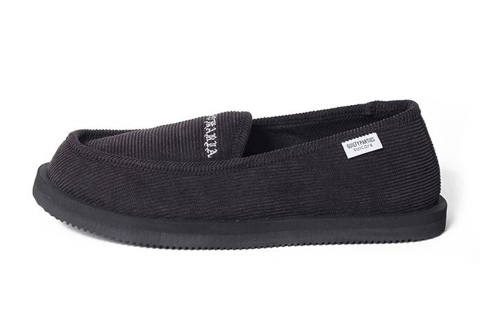 Wacko Maria Suicoke Deebo Shoes Black Lateral Side Shot