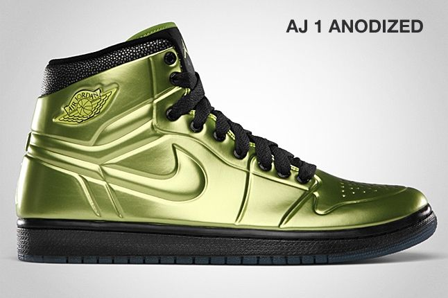 Jordan Aj 1 Anodized Altitude Green 1