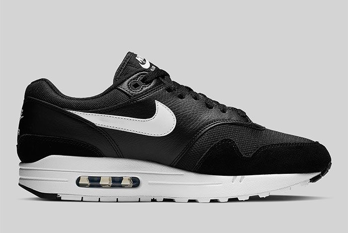 Nike Air Max 1 Black And White Ah8145 014 Side Shot 1