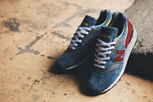 New Balance 997 Burgundy Teal 4