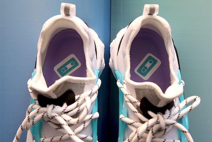 Nike React Presto Teal Purple Cassette Tape Insole Shot 4