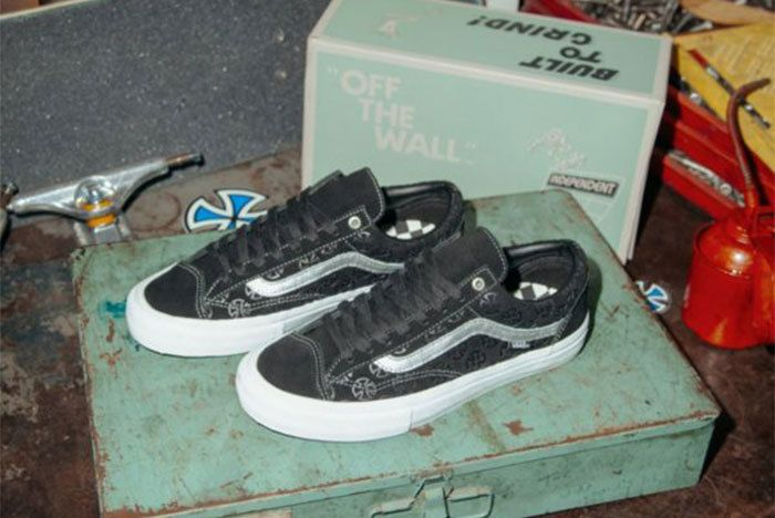 Ho18 Skate Ltd Independent Vn0 A46 Zerwv Style36 Pro Blk Sil Elv Ang Pair
