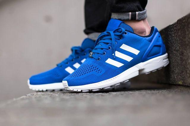 Adidas Zx Flux Strong Blue Q