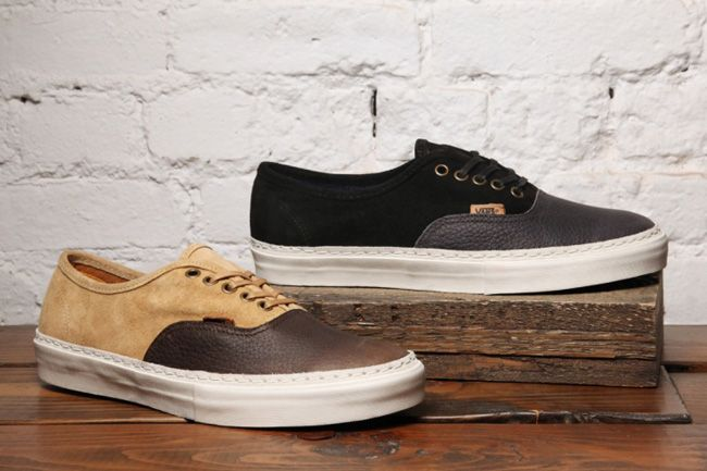 Vans Authentic Lx Suede Leather Pack Pair 1