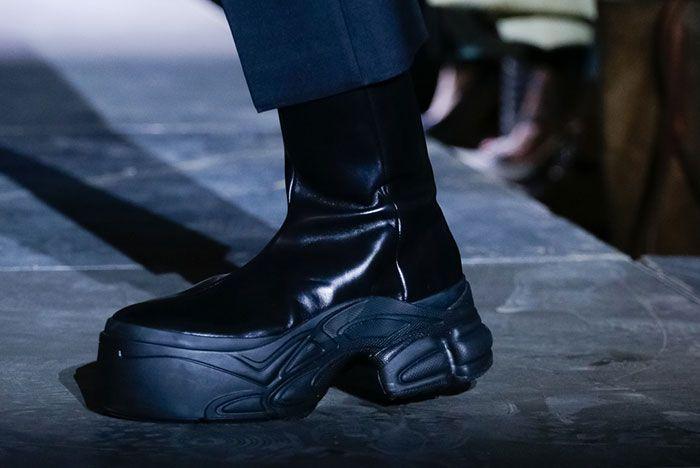 Raf Simons Adidas Ss19 Ozweego Black Patent 2