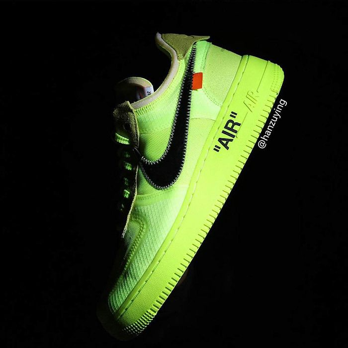 Off White Nike Air Force 1 Low Volt 15