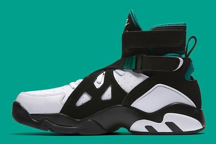 Nike Air Unlimited Retro White Black Emerald 5