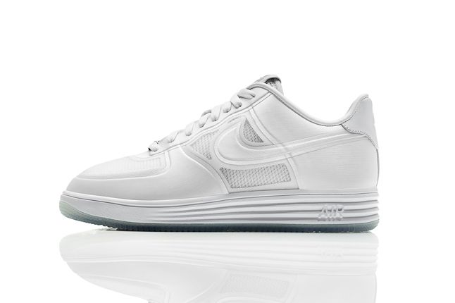 Nike Lunar Force One White Ice Profile 1