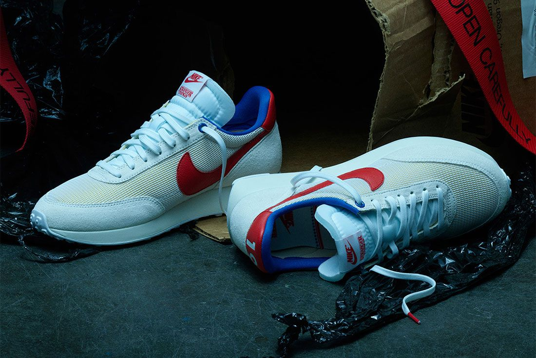 Stranger Things Nike Tailwind White Og Collection Ck1905 100 Top Shot