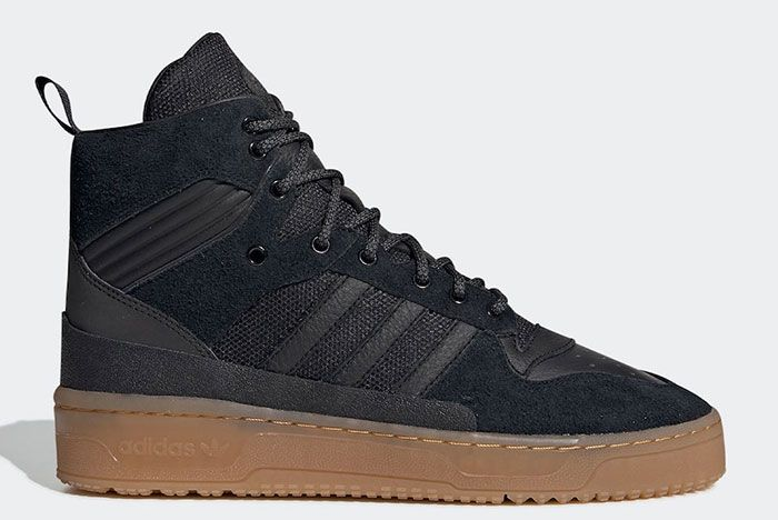 Adidas Rivalry Tr Black Gum Ee8186 Lateral